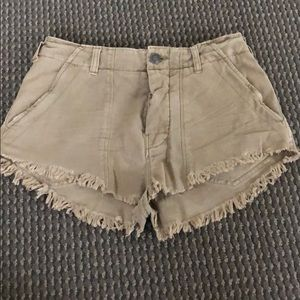 NEVER worn Free People shorts, size 2!